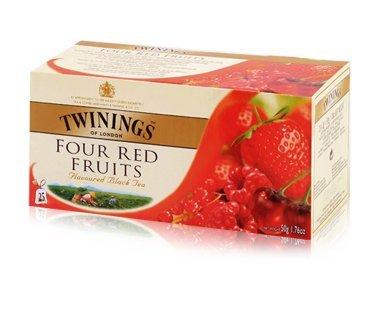 Twinings Four Red Fruits Tea 25Pcs 1Box 50G