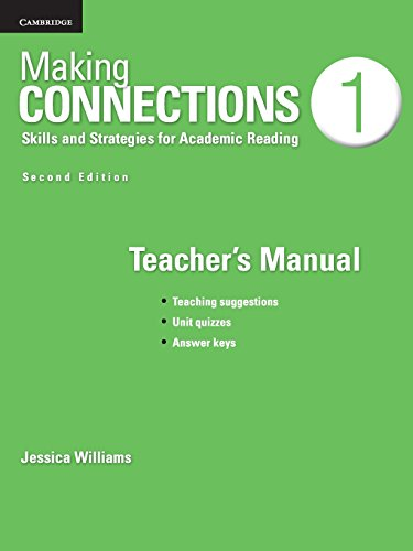 Making Connections Level 1 Teacher's Manual 2nd Edition