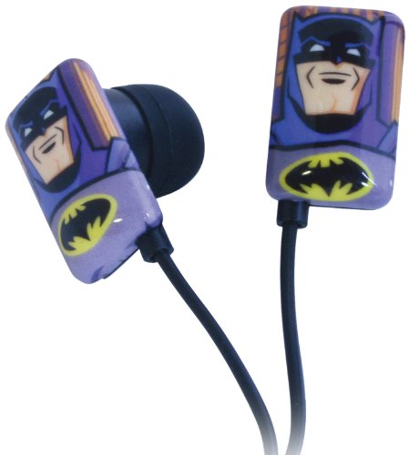 Play Visions Batman Earbuds