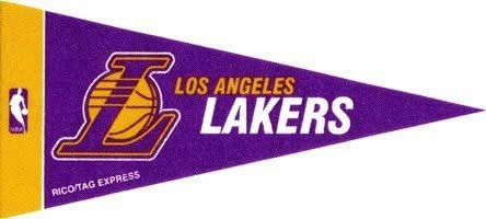 NBA Mini Los Angeles Lakers Pennant 2-Pack by TeamFanatics