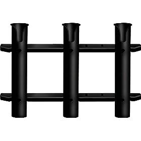 Seasense Rod Holder 3 Rack Tube (Black)