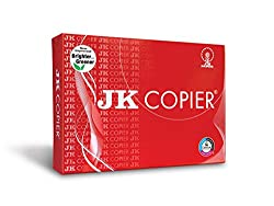 JK Copier Paper - 8.5 x 14 inches, 500 Sheets, 75 GSM, 1 Ream