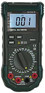 Mastech MS8261 30-Range Full Featured Digital Multimeter with Capacitance Measurement, MS8260 Series