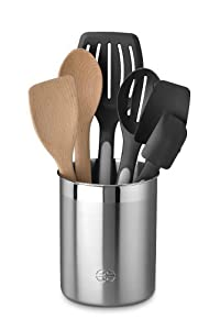 Calphalon Wood and Nylon Utensils Salad Serving Set