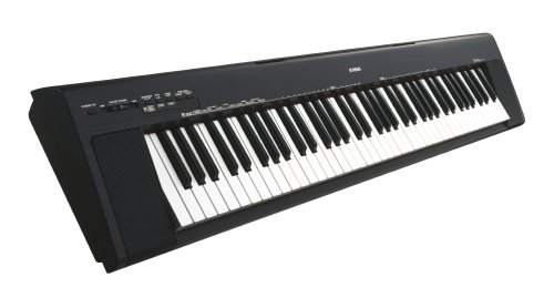 Yamaha NP30B-K Portable Digital Piano (black finish).