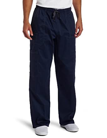 Dickies Generation Flex Men's Youtility Scrub Pants,Navy,X-Small