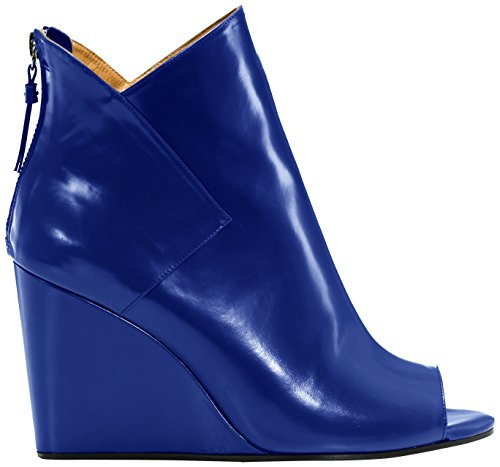 Castañer - OSLO/box leather, Stivaletti da Donna, Blu(Blue), 39