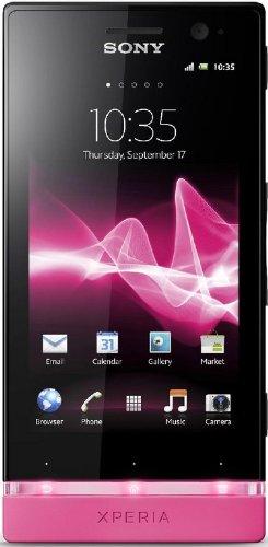 Sony Xperia U ST25i Black*Pink SIMフリー 輸入品グローバルモデル
