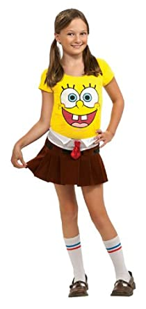 amazoncom spongebob squarepants spongebabe costume clothing