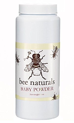 Bee Naturals Baby Powder - Safe Talc-Free All Natural Baby Powder - Premium Ingredients - 4 Oz - 1
