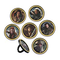 THE HOBBIT AN UNEXPECTED JOURNEY RINGS