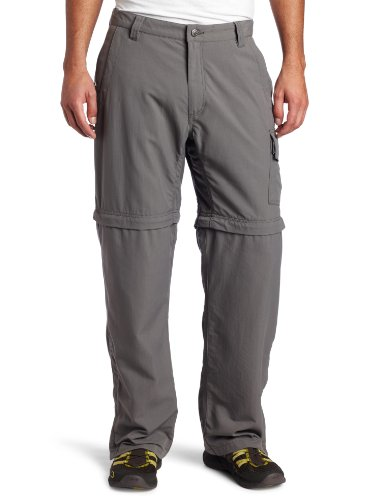 Mountain Khakis Men's Granite Creek Convertible Pant, Ash, 32x34