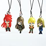 Tales Of The Abyss Figure Strap (Set of 4)