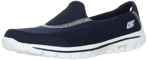 Skechers Women'S Go Walk 2 Fashion Sneaker,Navy,10 M Us front-958782