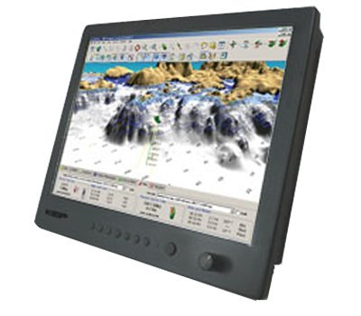 """Kep Lite Series 17"""" Monitor, Mfg# Kepl-17, 17"""" Color Lcd, Auto Scaling, 1000 Nit, Pip, 12 Or 24 V. Inputs: 2 Vga, 2 Dvi, 3 Compsite, 1 Rs232."""