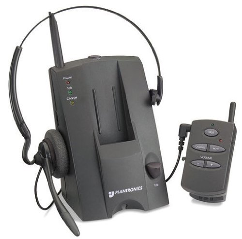 Plantronics Ca10Cd Push-To-Talk Cordless Amplifier Nib ~Headset Not Included~