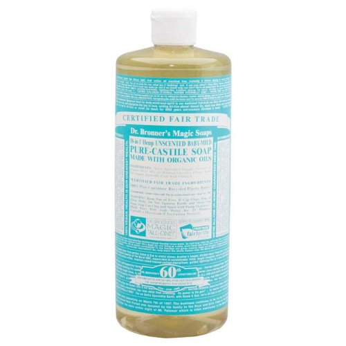 Dr. Bronner'S Organic Castile Liquid Soap Rose 32 Oz