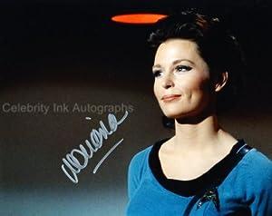 MARIANNA HILL as Helen Noel - Star Trek Classic Series Genuine Autograph
