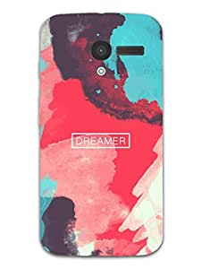Moto X Back Cover - I Dream Art - Designer Printed Hard Shell Case