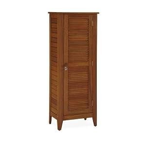 home styles montego bay outdoor multi purpose storage cabinet one door patio lawn. Black Bedroom Furniture Sets. Home Design Ideas