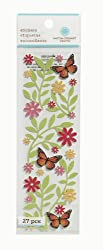 Martha Stewart Crafts Stickers, Bright Leaves and Butterfly