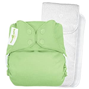 bumGenius One-Size Snap Closure Cloth Diaper 4.0 - Grasshopper