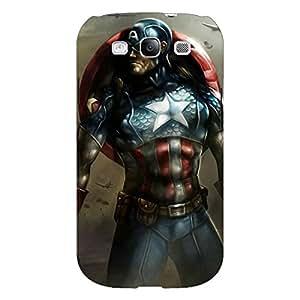 Jugaaduu Captain America Back Cover Case For Samsung Galaxy S3 Neo