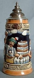 King-Werks Oktoberfest German Beer Stein 0.5 Liter