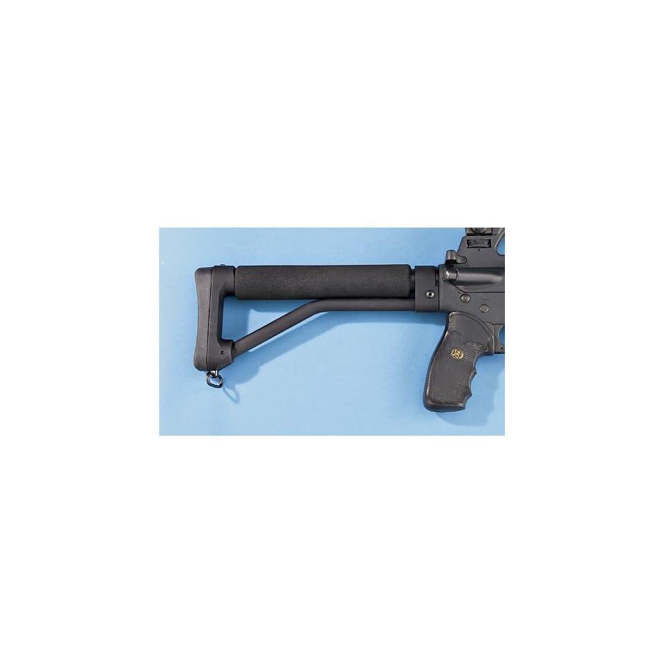 Ace AR 15 Skeleton Stock Black Anodized on PopScreen