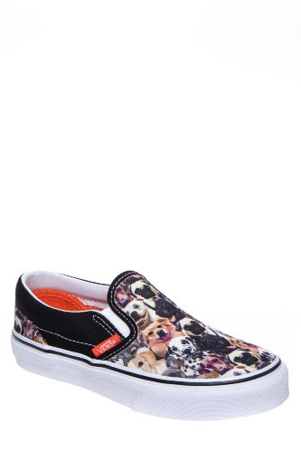 Vans Kid's Classic Slip On X Aspca Low Top Sneaker
