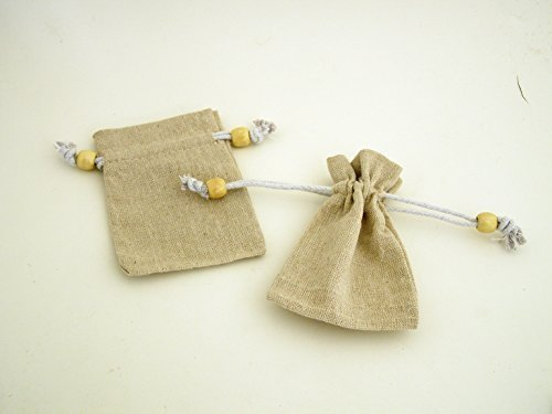 pack-of-5-x-small-high-quality-natural-linen-drawstring-bags-code-24-finished-with-wooden-bead-12cm-