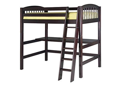 Kids Loft Beds With Desk 7857 front