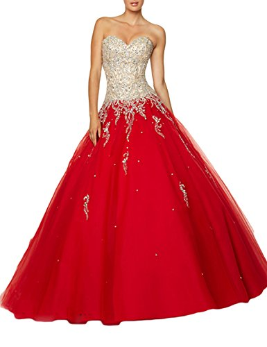 TrendProm-Womens-Prom-Dresses-Sweetheart-Quinceanera-Dresses-Tulle-with-Beads