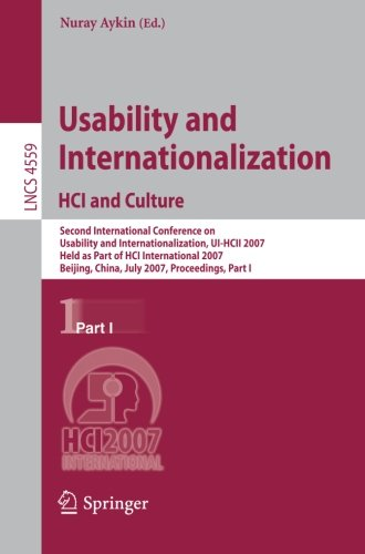 Usability and Internationalization. HCI and Culture: Second International Conference on Usability and Internationalizati