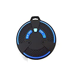 Mobilegear Mini Water Resistant Splash Proof Sporty Bluetooth Speaker With MIcro SD TFT Mic & AUX
