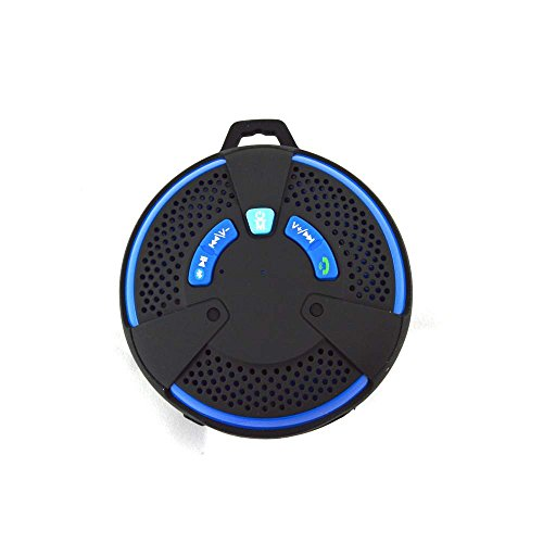 Mobilegear Mini Water Resistant Splash Proof Sporty Wireless Speaker