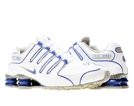 innovative design c9c38 d4ff9 Nike Men s NIKE SHOX NZ EU RUNNING SHOES 8 5 Men US WHITE ...