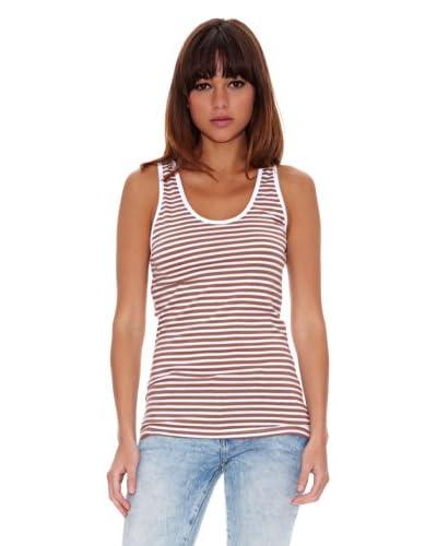 Janis Camiseta Gloria Tabaco
