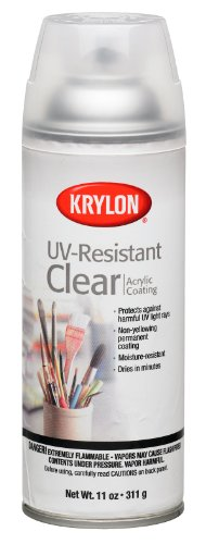 Krylon 1305 Gallery Series Artist and Clear Coatings Aerosol, 11-Ounce, UV-Resistant Clear Gloss