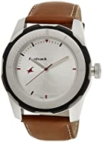 Fastrack Economy 2013 Analog White Dial Men's Watch - 3099SL01