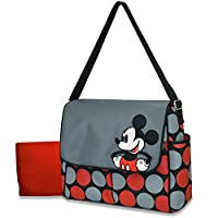 Disney Messenger Diaper Bag, Mickey from AD Sutton &sons