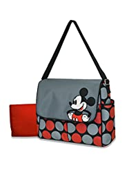 Disney Mickey Mouse Messenger Diaper Bag Disney