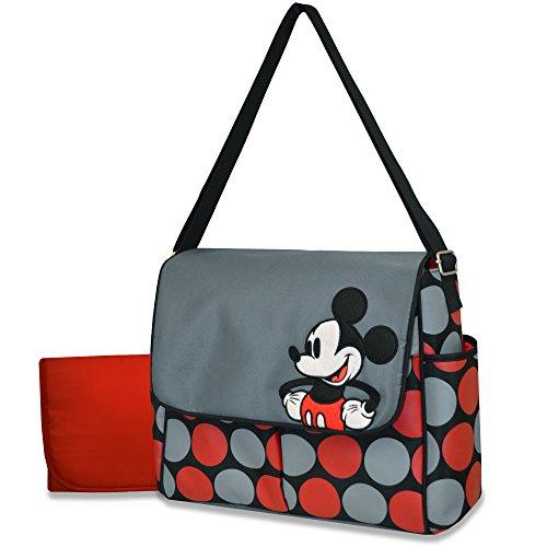 Disney Messenger Diaper Bag, Mickey - 1