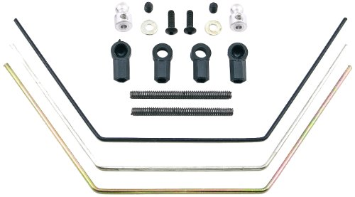 Team Associated 9635 B4 Rear Sway Bar Kit Soft, Medium, Hard - 1