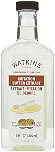 Watkins All Natural Extract, Imitation Butter, 11 Ounce