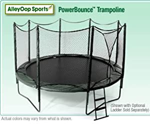 AlleyOop 14' PowerBounce Trampoline with integrated Safety Enclosure
