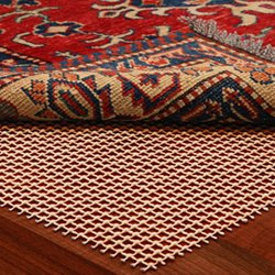 NaturalAreaRug Century Non Slip Rug Pad Earth Friendly Provides Extra Cushion For All Hard Surfaces of size  4\' x 6\'. Heavier and Thicker than Most Rug Pads