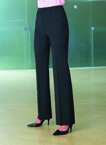 Brook Taverner Varese Suit Trouser in Navy Pinstripe 24R