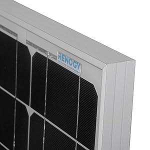 Renogy 50 Watt 12 Volt Monocrystalline Solar Bundle Kit from Renogy