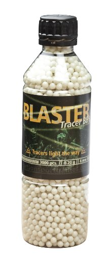 3.000 Blaster Softair / Airsoft -TRACER- BBs 6mm 0,20g